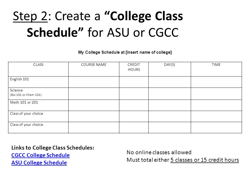 how to make a class schedule in excel option 2 list view daily