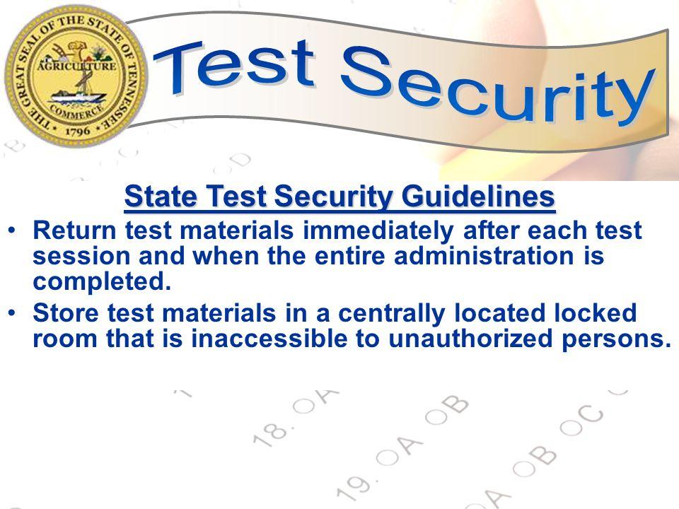 Security Grades Training