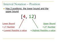 Printable Worksheets  Interval Notation Worksheets ...