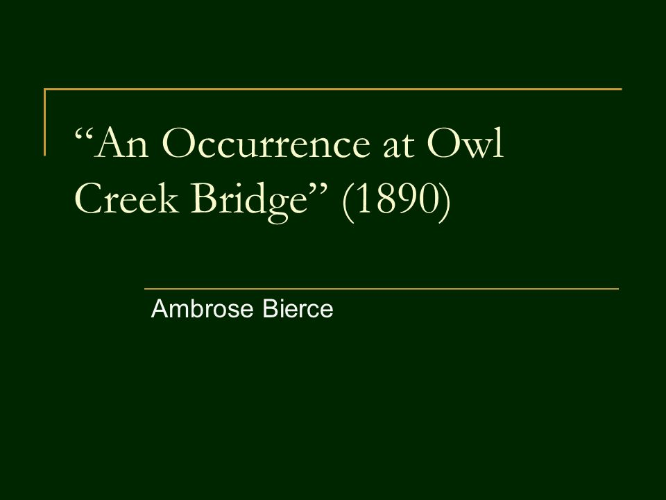 an occurrence at owl creek bridge plot diagram carrier oil pressure switch wiring summary part 1 the best 2017 twilight zone wiki fandom