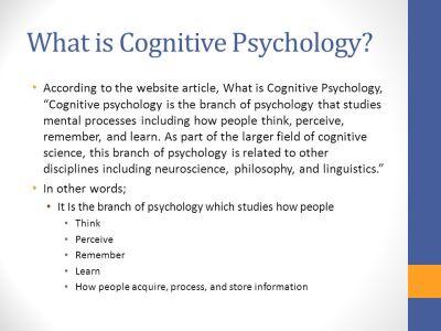 Jean Piaget & Cognitive Psychology - ppt video online download