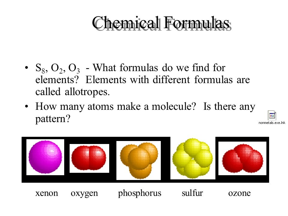 Types Chemical Bonds Examples