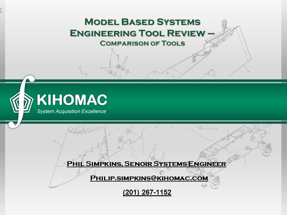 Model Based Systems Engineering Tool Review  Comparison of Tools  ppt video online download