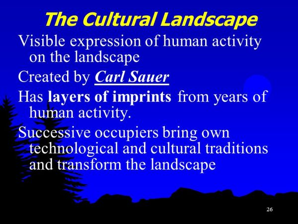 25 The Cultural Landscape Possibilism Pictures And Ideas On