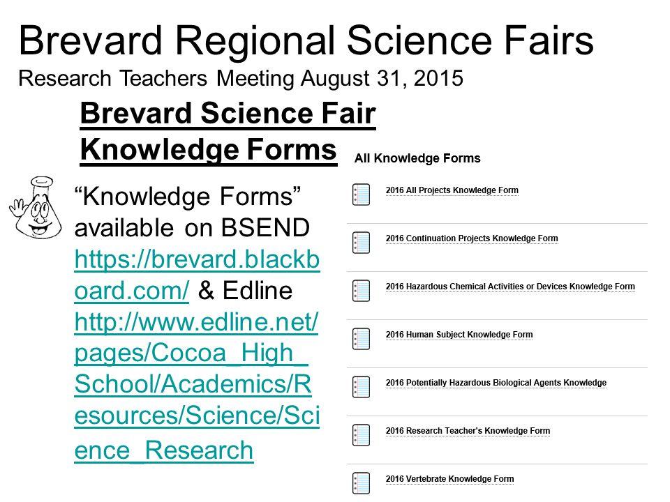 Brevard Regional Science Fairs Ppt Video Online Download