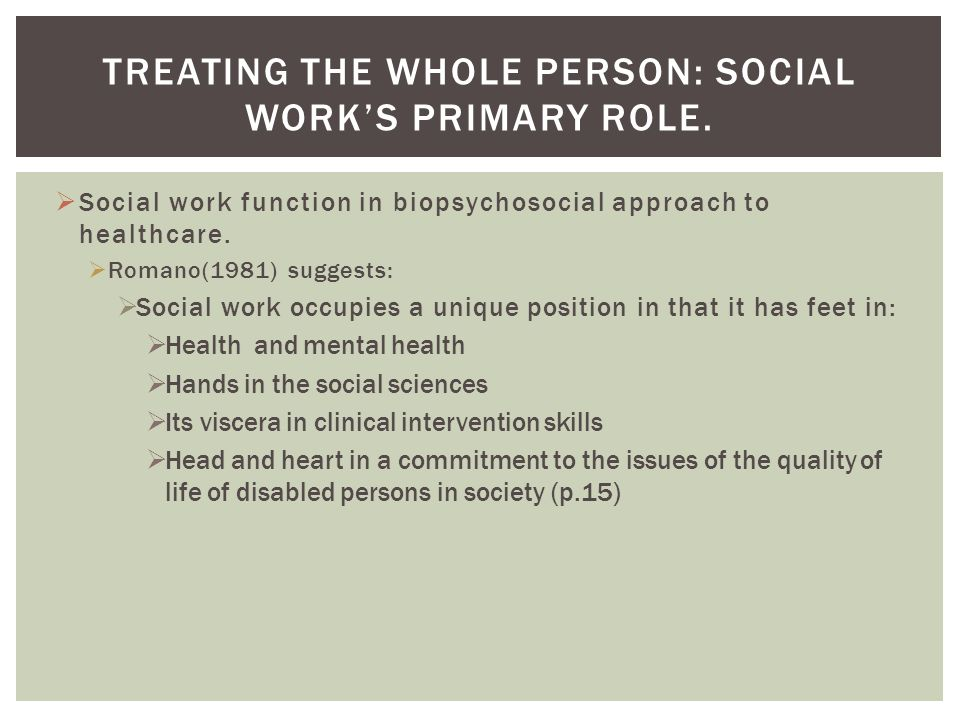 Social Worker Roles and Healthcare Settings  ppt video