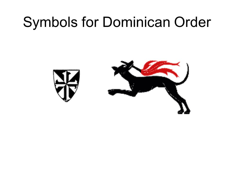 Didjareadit? Why do the Dominican's have a dog as their