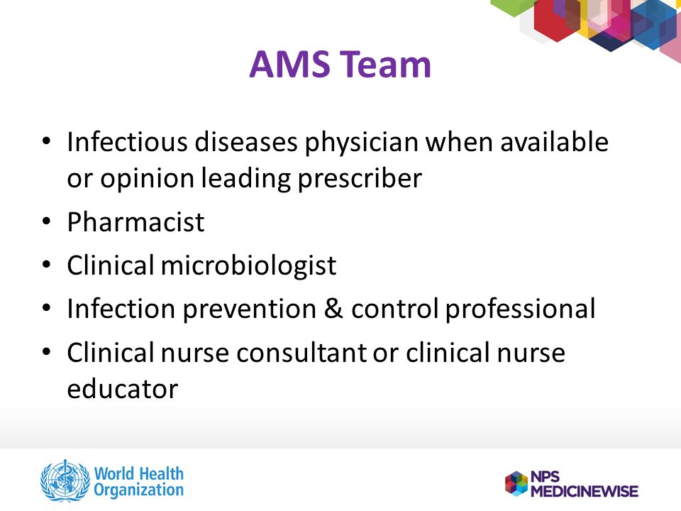 TRAINING FOR ANTIMICROBIAL STEWARDSHIP PROGRAMMES IN HOSPITALS  ppt download