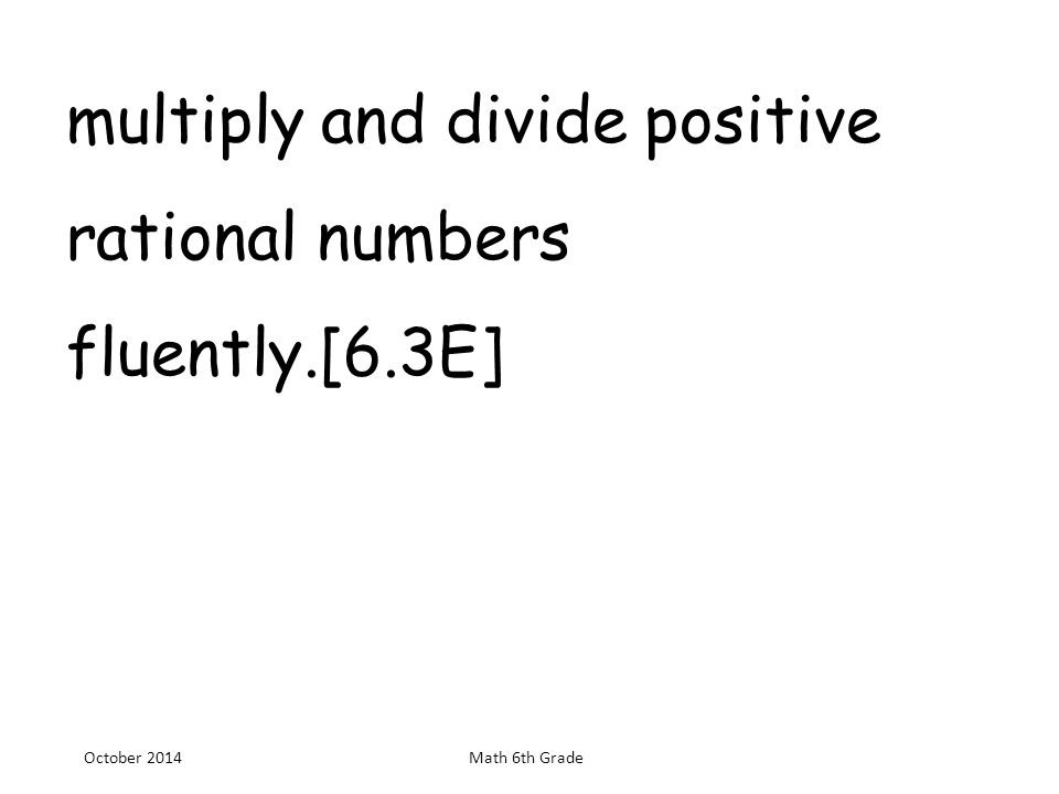 Classify whole numbers, integers, and rational numbers