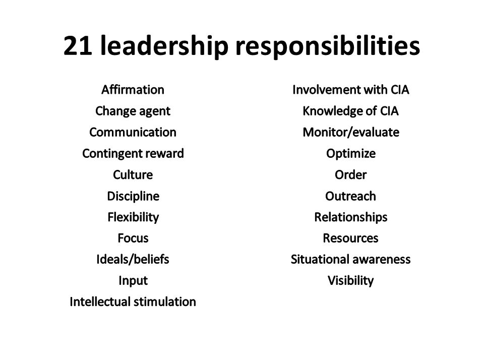 Why principal evaluation? Because Leadership Matters