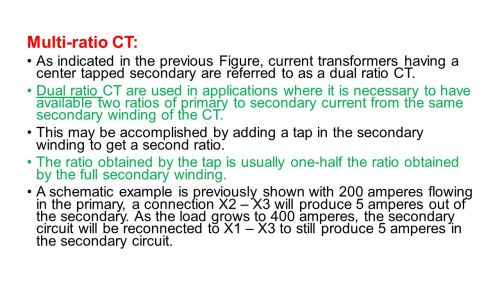 small resolution of instrument transformers ppt video online download multi ratio ct 3a as indicated in the previous