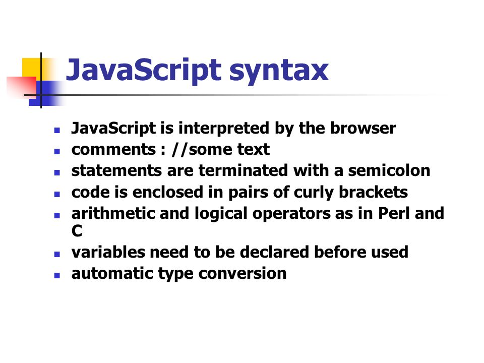 JavaScript Part ppt video online download