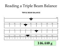 Triple Beam Balance Worksheet Answers - The Large and Most ...