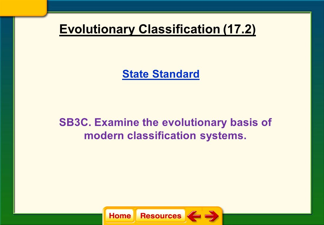 Worksheet Section 18 2 Modern Evolutionary Classification Worksheet Answers Grass Fedjp