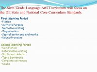 Printable Worksheets  Sixth Grade Language Arts ...