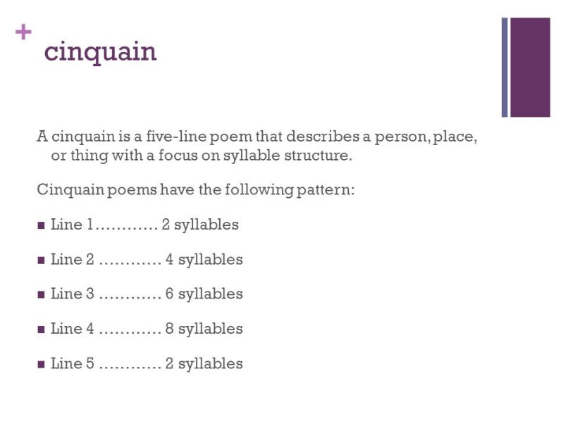 what is a cinquain poem with syllables poemdoc or