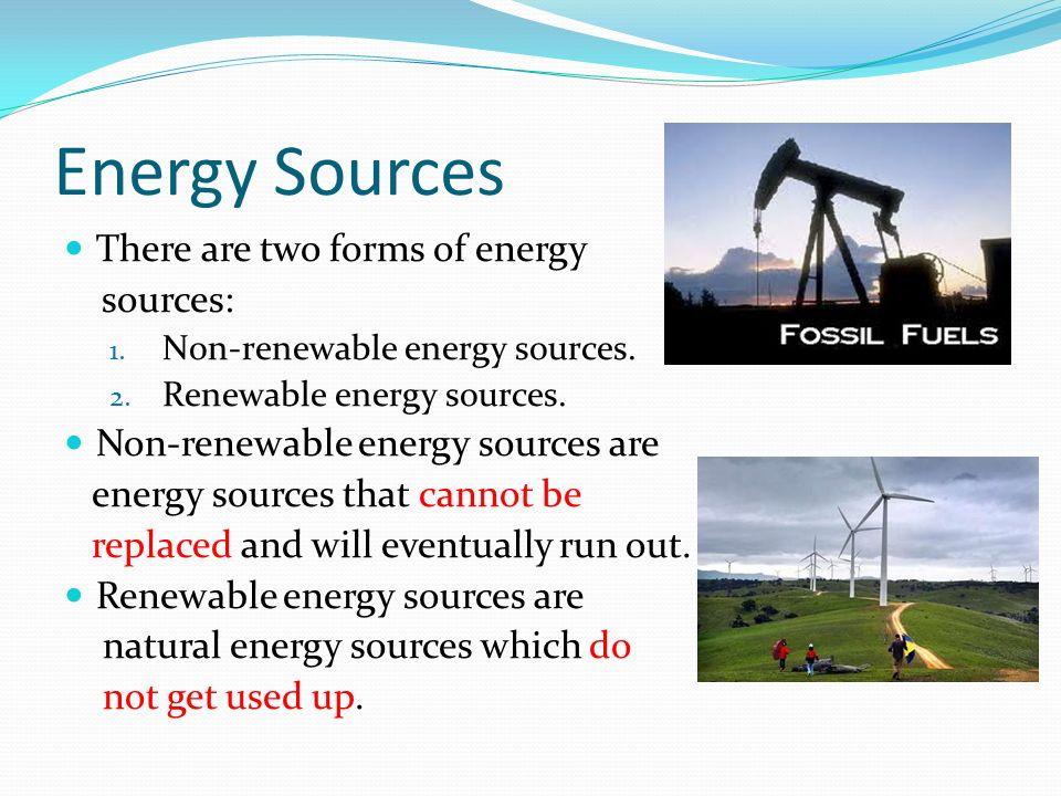 Types Of Energy Sources  Energy Etfs