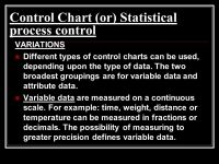 √ Different Types Of Quality Control Charts | flow chart diagram