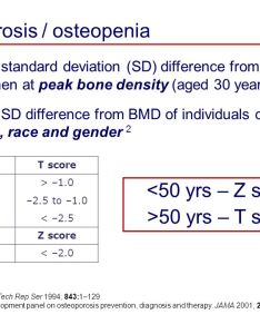 Sequential bone density tests done over several years is one means to determine an also what  normal  score for how does two stage rh my adventurex