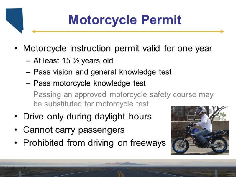 Motorcycle Instruction Permit Test Viewmotorjdi