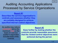 Internal Control in a Financial Statement Audit - ppt ...