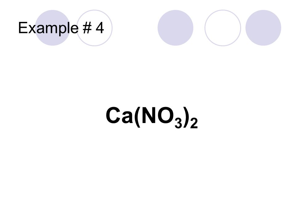 Ca No3 2: Chemical Equations & Reactions