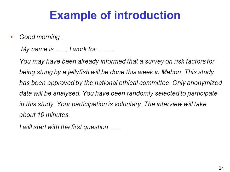 Questionnaire Design EPIET Introductory Course Lazareto