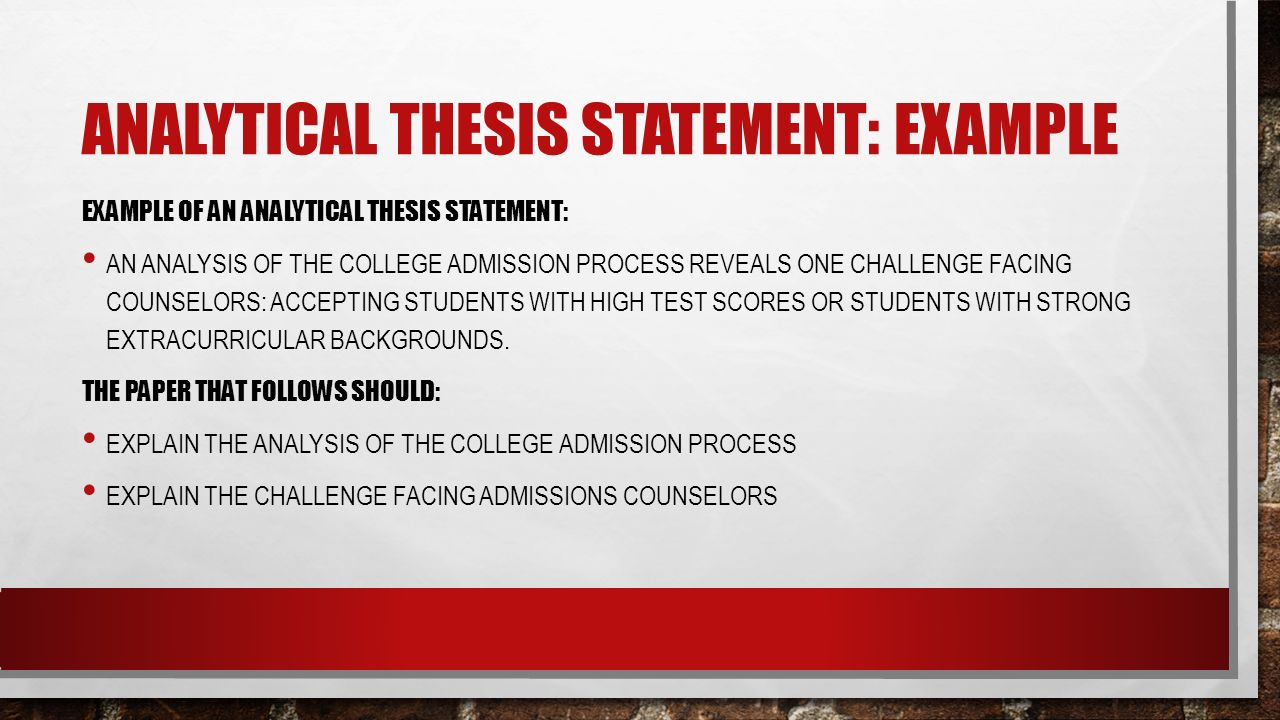 Thesis Statements Howto then do  ppt video online download