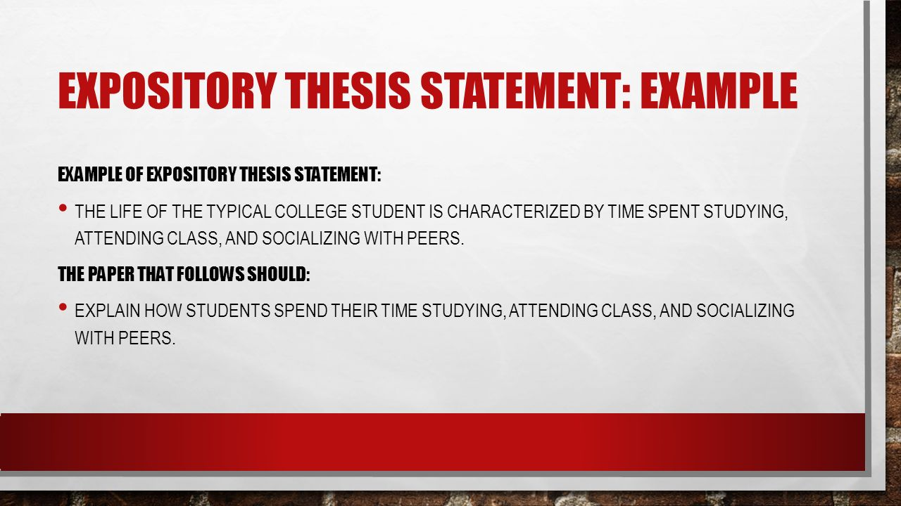 Thesis Statement In An Expository Essay Examples – Boxfohi36 Blog