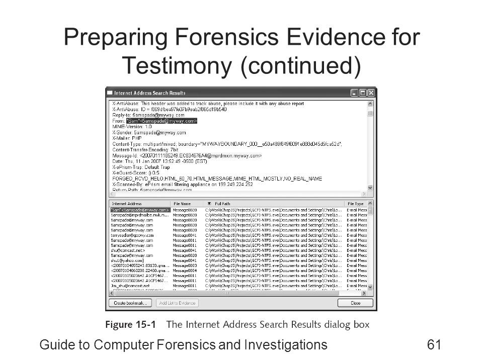 Guide to Computer Forensics and Investigations Third