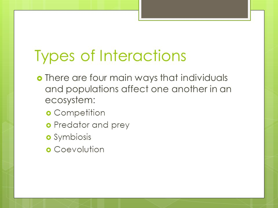 Interactions Of Living Things Guided Notes Ppt Video