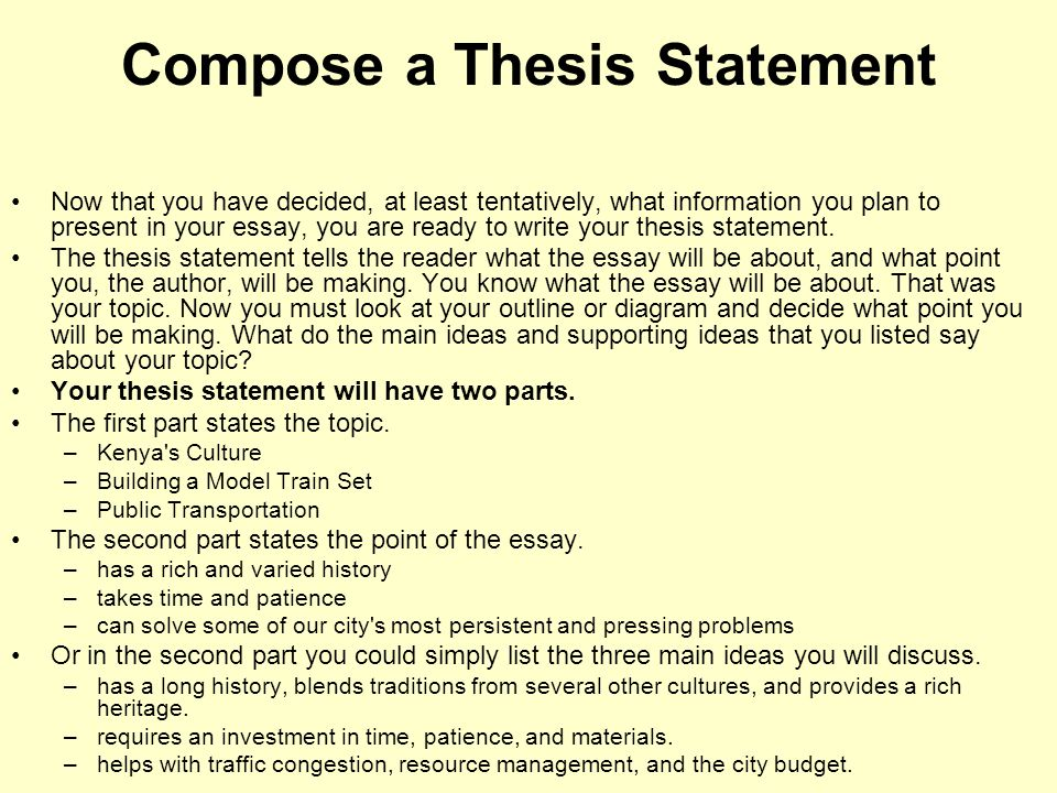 Drafting outline of a SAMPLE persuasive ESSAY  ppt download