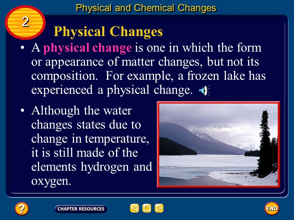 Chapter Properties And Changes Of Matter Ppt Video