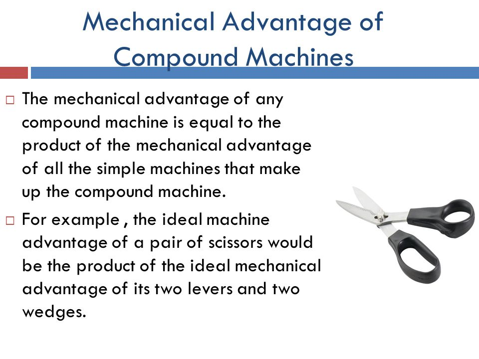 Machines What Simple Scissors Make
