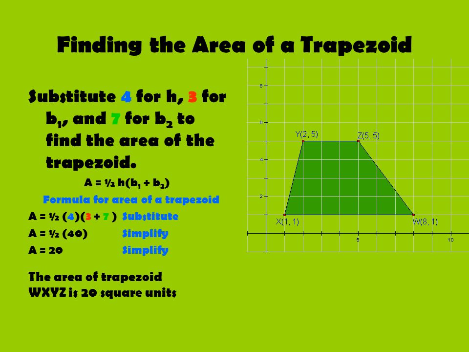 Areas of Triangles and Quadrilaterals  ppt download