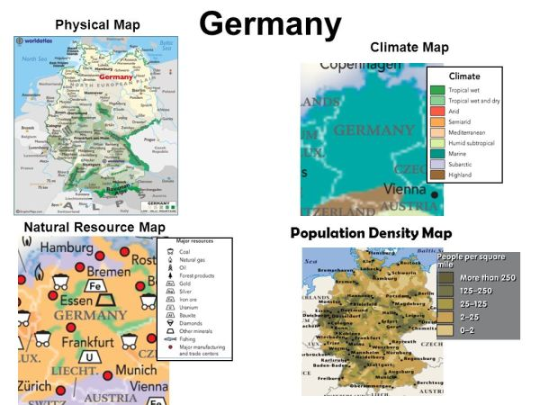 Map Of Germany Natural Resources.25 Physical Landscape Of Germany Pictures And Ideas On Pro Landscape