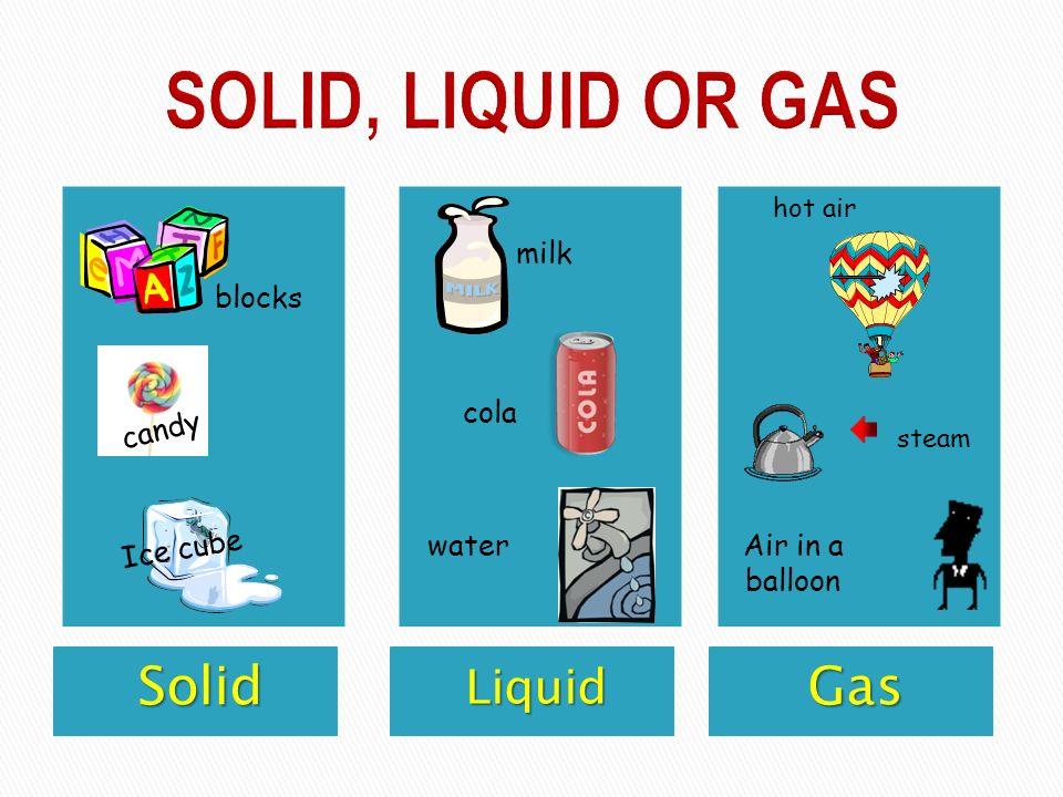 solid liquid gas examples liquid gases interesting animated lesson