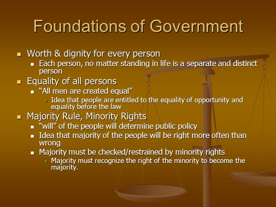 Foundations Of American Government  Ppt Video Online Download