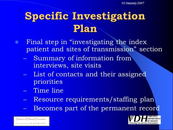 Contact Investigation for Tuberculosis Control ppt download