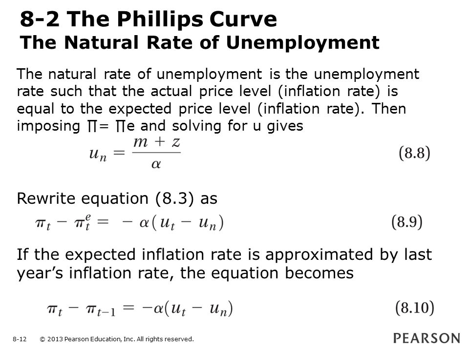 The Phillips Curve the Natural Rate of Unemployment and Inflation  ppt video online download