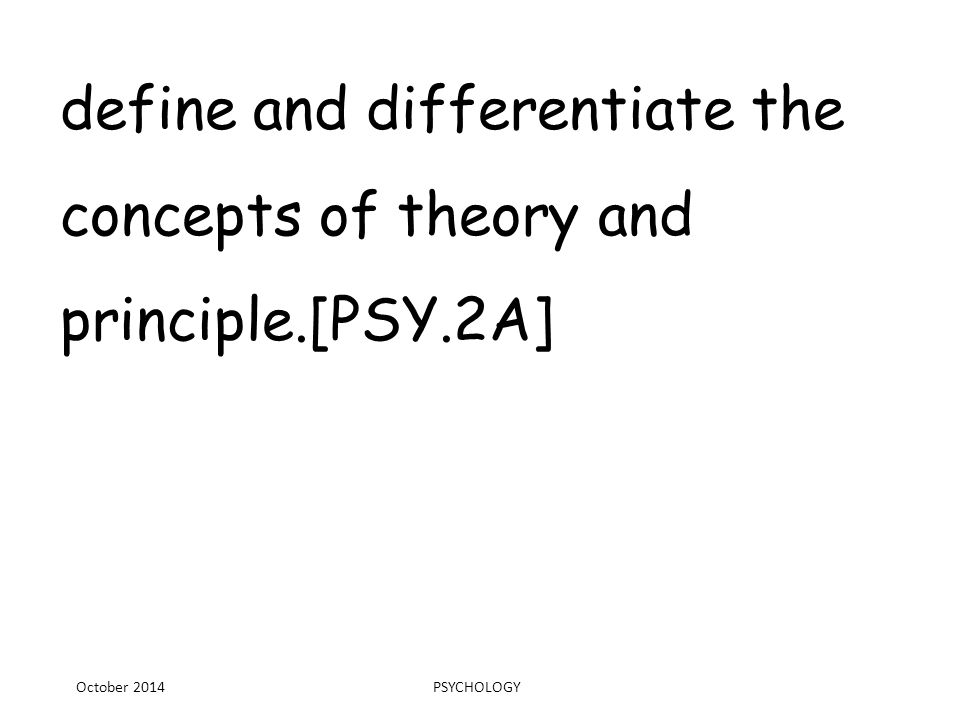 Identify characteristics that differentiate the field of