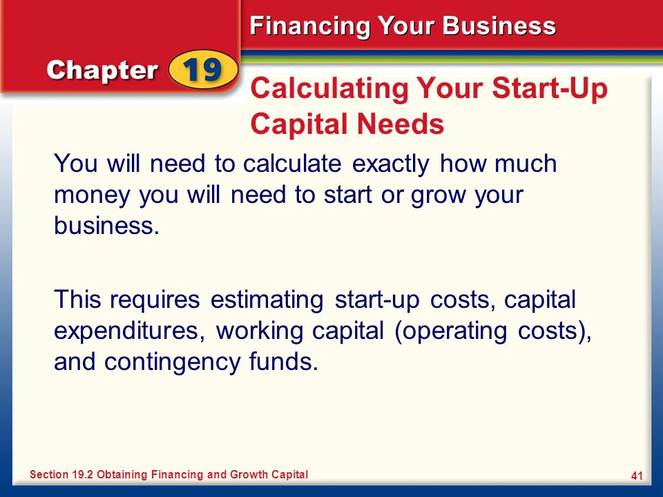 Financing Your Business Ppt Video Online Download