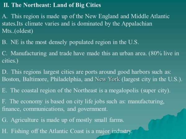 United States Geography 4 Regions ppt video online download
