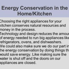 Ways To Conserve Water In The Kitchen Booths For Sale Going Green  Energy Home Ppt Video Online Download