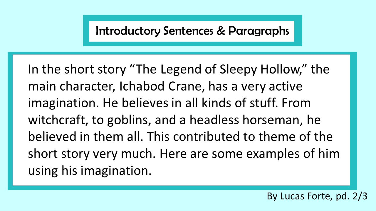 "Review G Your ""legend Of Sleepy Hollow"" Cl Ss Writ G Quizzes"