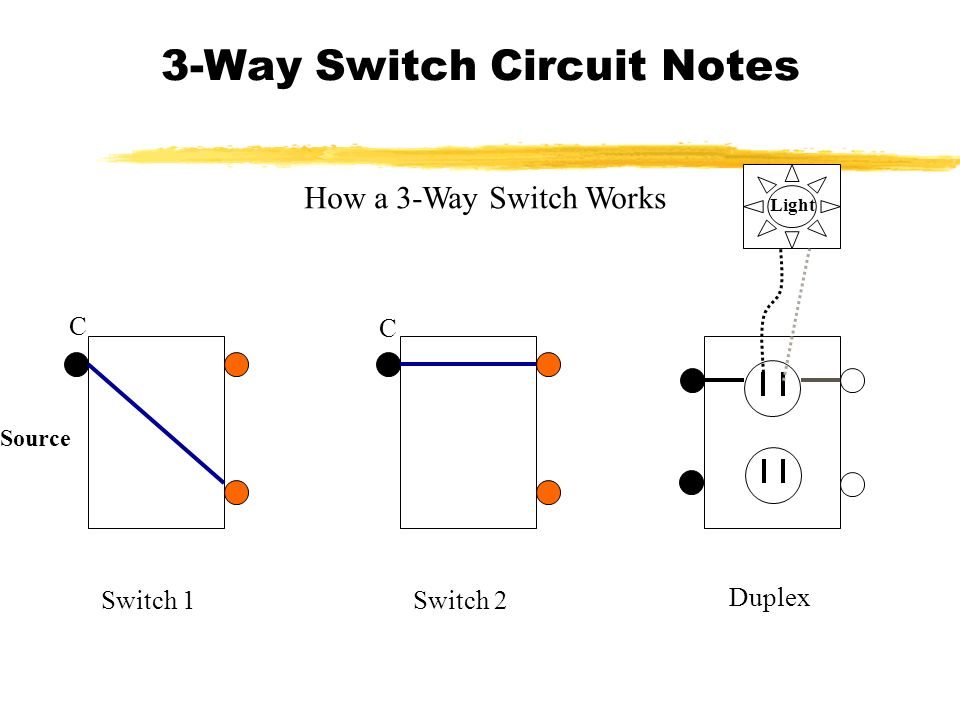 circuit diagram two way switch
