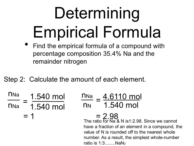 Empirical Formula Amp Molecular Formula