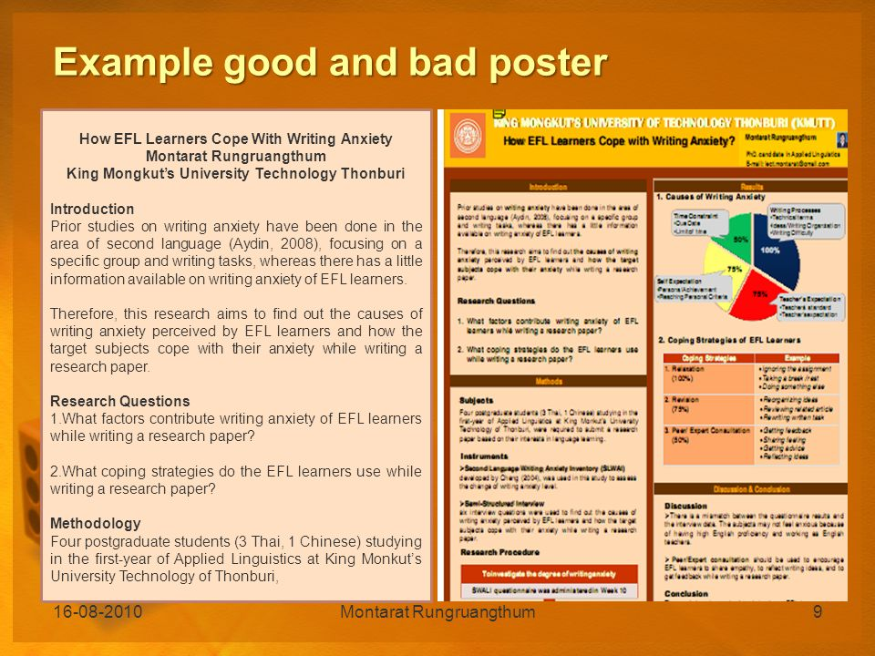 How To Make A Poster Presentation In Humanities And Social