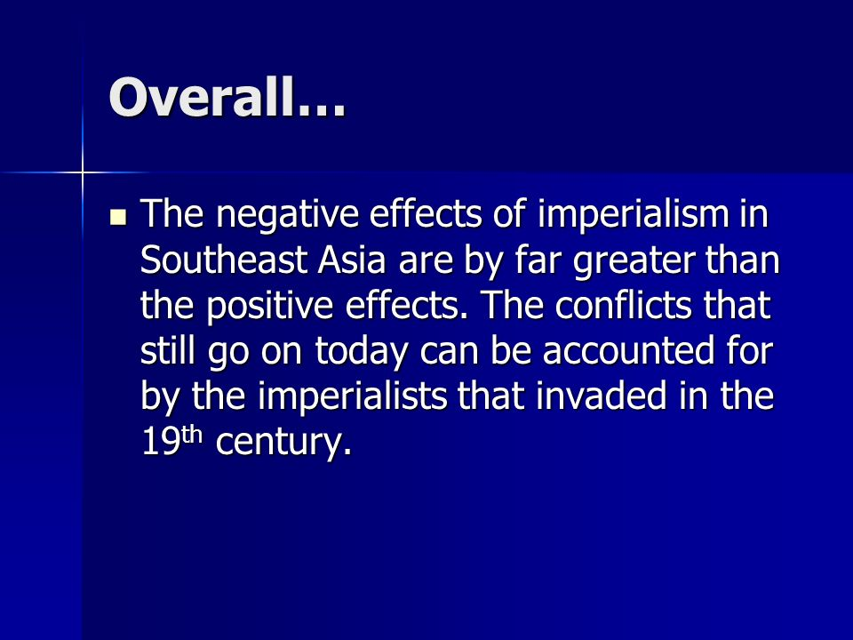negative effects of imperialism in india
