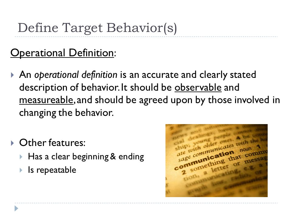 Data Collection for Problem Behaviors  ppt download
